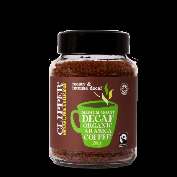 Caffè biologico istantaneo decaffeinato arabica