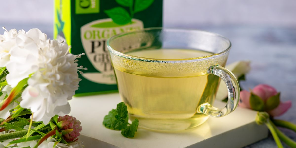 Pure and clear Clipper green tea